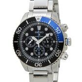 セイコー SEIKO 腕時計 ソーラークロノ クォーツ メンズ ウォッチ SSC017P1 DEAL
