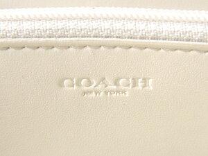 COACH/コーチ/長財布/F54632/IMDQC/シグネチャー/アコーディオン/チョーク/ホワイト