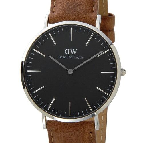 Daniel Wellington ダニエルウェリントン 腕時計 DW00100132 クラシックブラック ダラム 40mm シル...