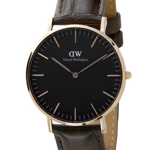 Daniel Wellington ダニエルウェリントン 腕時計 DW00100140 クラシックブラック ヨーク 36mm ロー...
