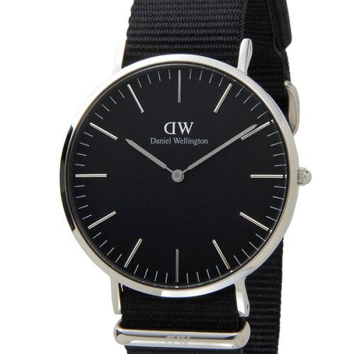 Daniel Wellington ダニエルウェリントン DW00100149 Classic Black 40mm クラシック ブラック コ...