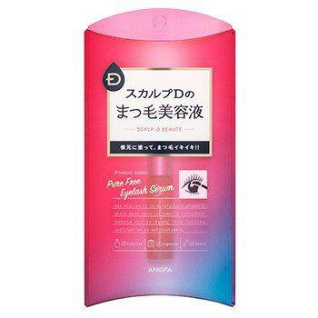 アンファー スカルプD まつ毛美容液 ピュアフリーアイラッシュセラム 6ml (香水/コスメ) 新品
