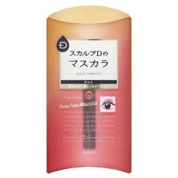 アンファー スカルプD マスカラ まつ毛美容液シリーズ ピュアフリーマスカラ ブラック 6g (香水/コスメ) 新品
