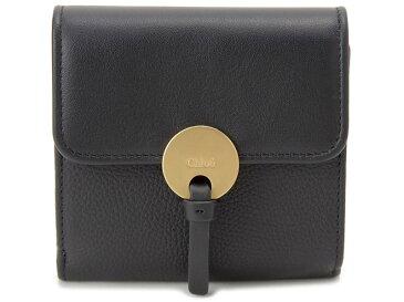オータムフェア クロエ Chloe 三つ折り財布 CHL16UP811 H8J 001 INDY インディ スクエアウォレット ブラック レディース 財布