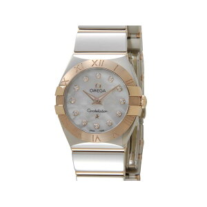 Omega OMEGA Constellation Polish Quartz 123.20.24.60.55.003 Diamond 12P Gold Watch Ladies New 5 Year Warranty