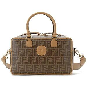 Early summer sale Fendi FENDI mini Boston bag Lady's brown 8BL143 A5K4 F15WO 2WAY shoulder bag Zucca pattern