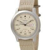 セイコー5 SEIKO5 腕時計 時計 メンズ ミリタリー ベージュ SEIKO SNK803K2 セイコーファイブ [ポイント5倍キャンペーン][8/3〜8/17]