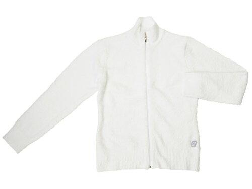 カシウェア kashwere ジップアップジャケット パーカー ホワイト