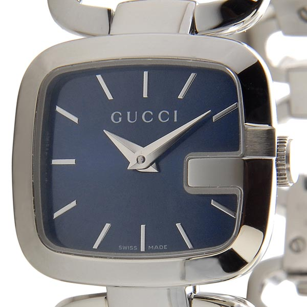 グッチ GUCCI YA125508 G-COLLECTION Gコレクション ブルー/シルバー レディース 腕時計:s-select