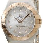OMEGAオメガ123.20.27.60.55.001コンステレーションホワイトシェル12Pダイヤモンドレディース腕時計