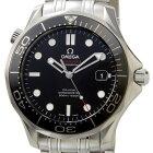 オメガ腕時計シーマスター300MクロノメーターSS自動巻きブラック212.30.41.20.01.003メンズウォッチ腕時計OMEGA