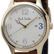 ポールスミス Paul Smith BV3-120-90 レディース 腕時計 The City Mini ザ・シティ ミニ オフホワイト/ブラウン 信頼の日本製
