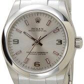 ロレックス ROLEX 177200 SV-AR-PK オイスターパーペチュアル ボーイズ シルバー レディース 腕時計