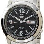 セイコーファイブSEIKO5SNKE63J1ブラック×シルバー自動巻き腕時計メンズウォッチ