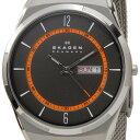【送料無料】 スカーゲン SKAGEN メンズ 腕時計 SKW6007 Aktiv Mesh Titanium アクティブ メッシュ チタニウム グレー