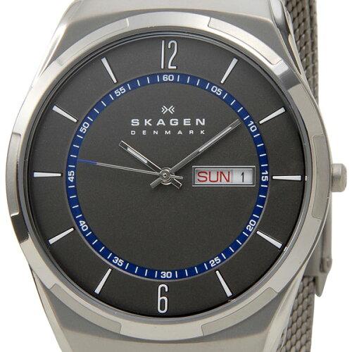 スカーゲン SKAGEN メンズ 腕時計 SKW6078 Aktiv Mesh Titanium アクティブ メッシュ チタニウム ...