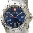 ウェンガー WENGER 72618 メンズ腕時計 マウンテイナー ブルー/シルバー ミリタリー アウトドア 時計 DEAL