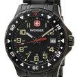 ウェンガー WENGER メンズ腕時計 オフロード 79309 ブラック ミリタリー アウトドア 時計 新品 送料無料