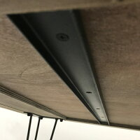 【古材ダイニングテーブルネイティブ】インテリア古材テーブルダイニングテーブル4人掛け1401400スチール天板柄模様ネイティブブラウンインダストリアルブルックリンヴィンテージアンティーク軽量軽いオリジナルデザイン送料無料