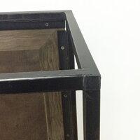 【古材コーヒーテーブル】古材テーブルコーヒーテーブルローテーブルセンターテーブル1201200スチール柄模様長方形角型インダストリアルブルックリンヴィンテージオリジナルデザイン送料無料