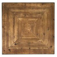 【古材コーヒーテーブルジオメトリー】古材テーブルコーヒーテーブルローテーブルセンターテーブル80800スチール柄模様幾何学正方形四角インダストリアルブルックリンヴィンテージオリジナルデザイン