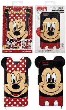 iPhone6s ケース ダイカットカバー 手帳型 ディズニー Disney ミッキー ミニー ドナルド デイジー チップ デール クラリス ポテトヘッド レックス i6S-DN05 i6S-DN06 i6S-DN07 i6S-DN08 i6S-DN09 iDress サンクレスト
