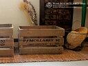 ボックスウッド 木製品 ナチュラル雑貨 収納 ディスプレイmaison blanche classique ウッドボ...