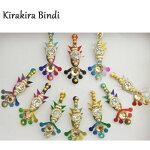 ビンディ:レインボー / ビンディー ベリーダンス インド サリー アクセサリー 民族衣装
