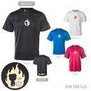 A-WIN1851LDFIGHT半袖Tシャツ(ユニ/メンズ/ジュニア)バドミントンウェアアーウィン【ハシルトンシリーズ/クリックポスト発送可/即日出荷/限定品】