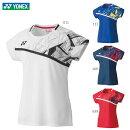 YONEX20522ウィメンズゲームシャツウェア(レディース)バドミントン・テニス2020年春夏モデルヨネックス【日本バドミントン協会審査合格品/メール便可/取り寄せ】