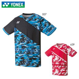 YONEX 10336 メンズゲームシャツ(フィットスタイル) バドミントンウェア(TOURNAMENT STYLE) ヨネックス 2020年秋冬モデル【メール便可/日本バドミントン協会審査合格品/取り寄せ】
