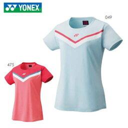YONEX 20578 ウィメンズゲームシャツ テニス・バドミントンウェア(ウィメンズ) 2021SS ヨネックス【メール便可/取り寄せ】