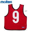 molten GB0012-R11 ゲームベスト(ジュニア) 赤11 オールスポーツ モルテン 2021 【メール便可/ 取り寄せ】