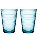 【iittala】 アイノ・アアルト ハイボール ライトブルー ペア /コップ タンブラー グラス 酒器 イッタラ