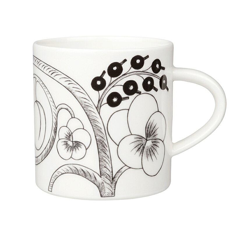【ARABIA】 ブラック パラティッシ マグ 350ml /コップ ティー用品 コーヒー用品 アラビア