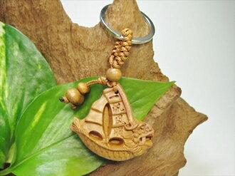 [鑰匙圈]木梨樹(kuwariboku)龍船:1風帆次序:出入平安