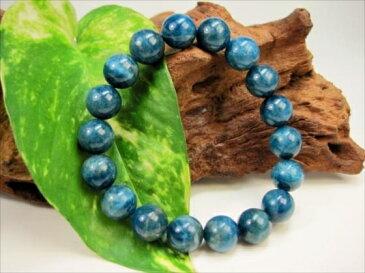【ブレスレット】ブルーアパタイト品質AAAΦ11.2±0.2mm