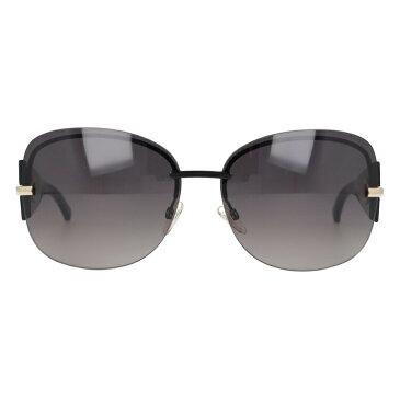 クリスチャン・ディオール Christian Dior サングラス DIOR PRECIEUSEF KH8/XQ 64 ブラック(ノーズパッド調節可能)【レディース】 UVカット