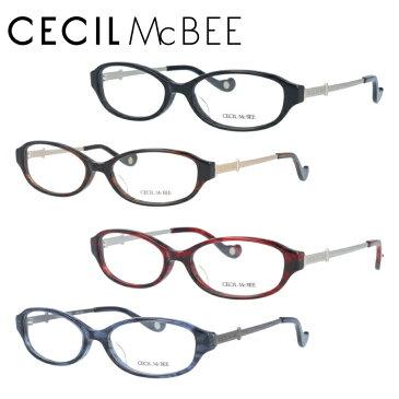 セシルマクビー メガネフレーム CECIL McBEE 度付き 度なし 伊達 だて 眼鏡 レディース CMF 7025-1/CMF 7025-2/CMF 7025-3/CMF 7025-4 オーバル