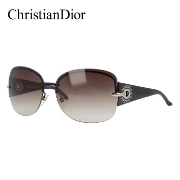 クリスチャン・ディオール Christian Dior サングラス DIOR PRECIEUSEF KGH/QX 64 ブラック/パープル(ノーズパッド調節可能)【レディース】 UVカット