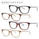 マーキュリーデュオ メガネフレーム 伊達メガネ MERCURYDUO MDF8043 全4カラー 51サイズ ウェリントン型 レディース ラインストーン 度付き 度なし 伊達 だて 眼鏡 アイウェア UVカット 紫外線対策 UV対策 おしゃれ ギフト