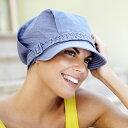 【アウトレット】医療用 帽子 レディース クリスティン christine キャップ 春夏 ぼうし ladies ウィメンズ カラー:ブルー 8242-226 【脱毛・手術後用ケア帽子】 母の日 ギフト