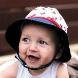 ベビー 帽子 UVカット 赤ちゃん uv 帽子 乳児 乳幼児 男の子 女の子 ハット 紫外線対策 43cm 0歳〜6ケ月