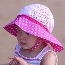 UVカット 帽子 キッズ uv ハット 子供 赤ちゃん 女の子 ベビー帽子 キッズ帽子 ベビー 夏 46cm 49cm 52c...