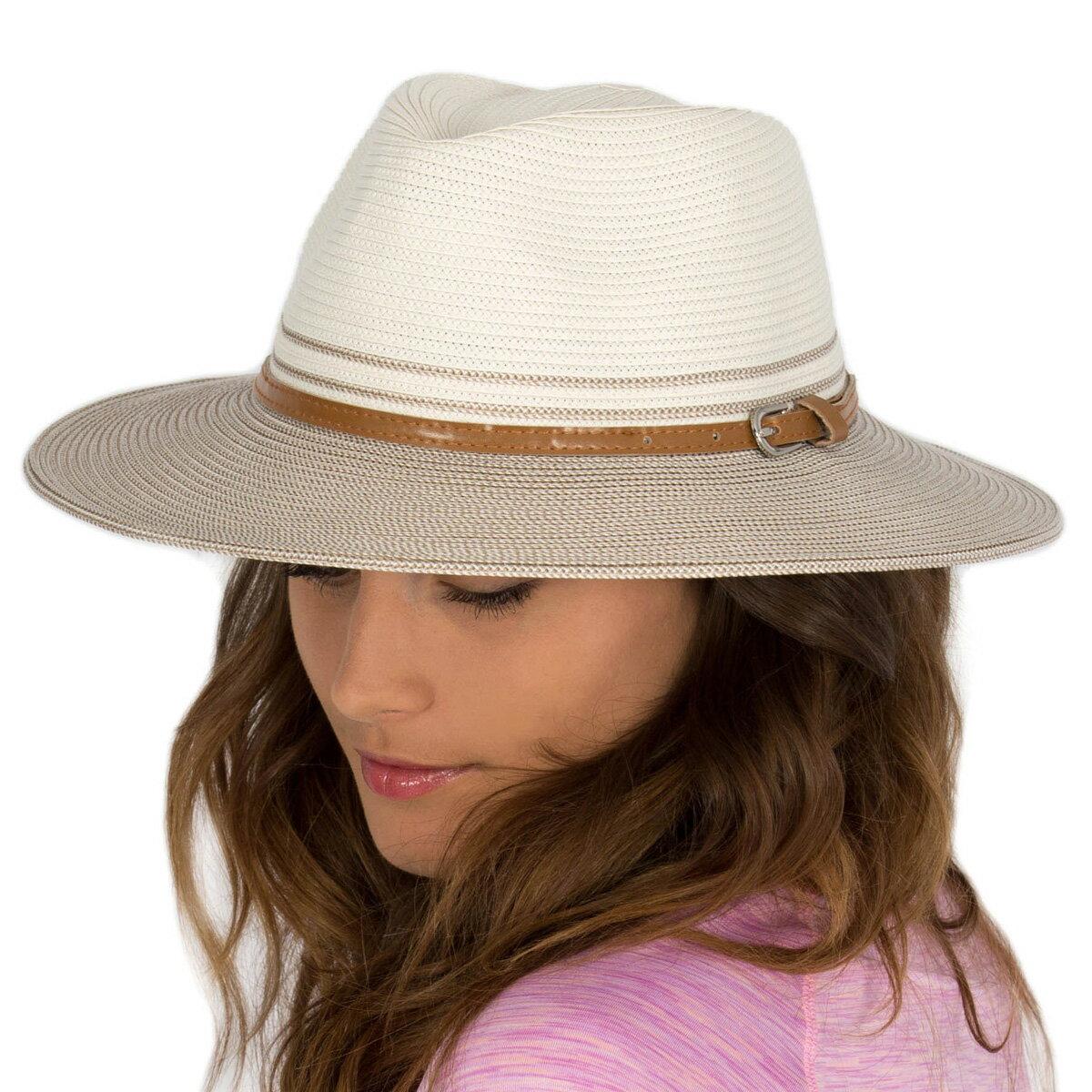 帽子 レディース ハット つば広 UVカット 女性用 UV 中折れ カウボーイ ハット カウガールハット テンガロン ウエスタン ハット 春 夏 日よけ 紫外線対策 母の日 ギフト