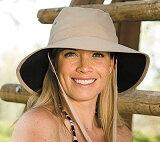 【レビューでメール便可】UVカット 帽子(女性用) - レディース ハット- アドベンチャー ハット レデイース ladies サファリハット 大きいサイズ登山 トレッキング 自転