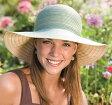UVカット 帽子(女性用) - レディース ハット つば広 ぼうし - キャプリーヌ ブレイド ladies レデイース レディス ウィメンズ UV 夏 ※紫外線カット(UVカット)最高値UPF50+ 母の日 ギフト