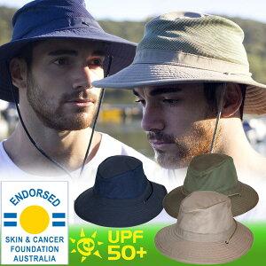 UVカット 帽子(男性用) - メンズ ハット - クールカンフォート ハット ★【農作業 帽…