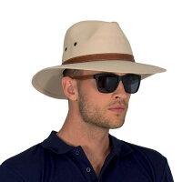 UVカット 帽子(男性用) - メンズ ハット ウエスタン ウェスタンハット カウボーイハット テンガロンハット 大きいサイズ