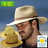 麦わら帽子 つば広 ストローハット メンズ UVカット 帽子 男性用 uv 農作業 ガーデニング 釣り 日よけ おしゃれ 紫外線 春 夏 麦藁帽子 麦わら 帽子 登山 59cm / 61cm